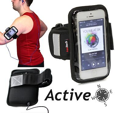 Navitech Black  Sports Running Armband For Sony Xperia Z3 Compact / SPORT-AC NEU