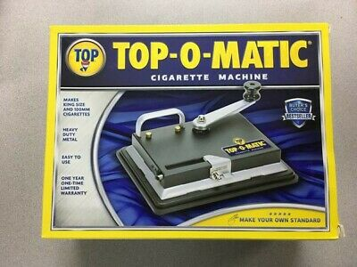 Top-O-Matic Cigarette Rolling Machine great Condition In Box 100s and regular