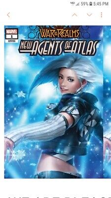 New Agents Atlas # 1 Jeehyung Lee 2nd Print Luna Snow Variant limited