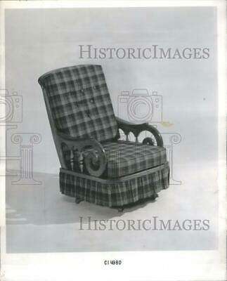 1964 Press Photo Rocking Chairs Furniture - RRS35343