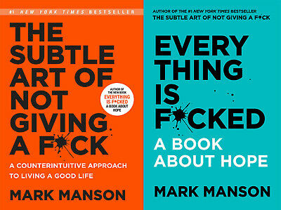 New The Subtle Art of Not Giving a F*ck F ck Fck  Fk F by Mark Manson PDF + Gift
