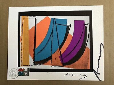 Andy Warhol - United Nations (Wfuna) Art Graphic 1979 - Signed (Undro)