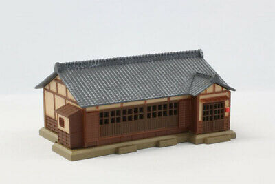 Rokuhan S026-1 Tiled-Roof House (Gray) (1/220 Z Scale)