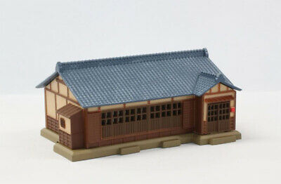 Rokuhan S026-2 Z Scale Tiled-Roof House (Dark Blue) (1/220 z scale)