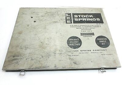 Lee Stock Compression Kit Ressorts Musique Fil Incomplet Aprox 65 Fils #200 Mw