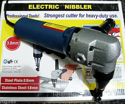 Rdgtools Heavy Duty Electric Metal Cutter Nibbler Cuts Upto 3Mm