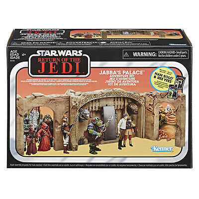 (In-Hand) Star Wars Vintage Collection Jabba's Palace Han Solo Ree Yees Playset