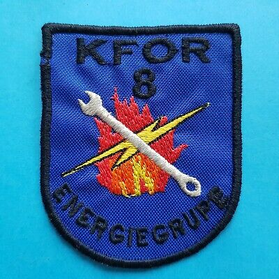 US USA ARMY Military NATO KFOR 14 TASK FORCE VORTEX Sewing