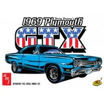 AMT 1065 1/25 1969 Plymouth GTX, Dirty Donny Model Kit
