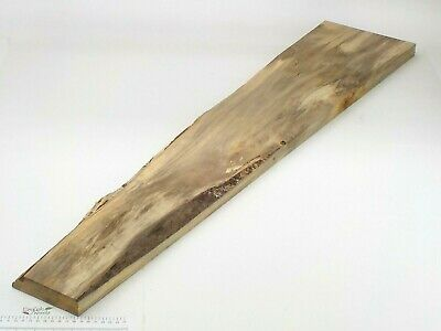Waney Bordes Spalted Inglés Lima Madera Junta. 120-220 X 28 X 1160mm. Plank.