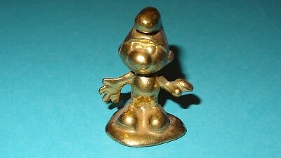 Smurfs Riverside Brass Normal Smurf Rare Vintage Display Art Figurine Canada