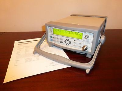 Agilent 53152A 46 GHz Microwave Frequency Counter / Power Meter / DVM w/ Opt 001