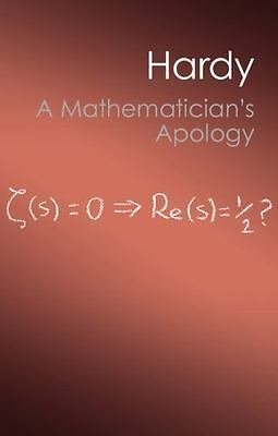 Canto Classics: A Mathematician's Apology by G. H. Hardy (2012, Paperback)