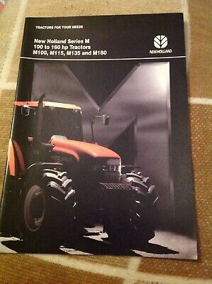 New Holland Series M 100 to 160hp Tractors M100 - M160 1996 brochure