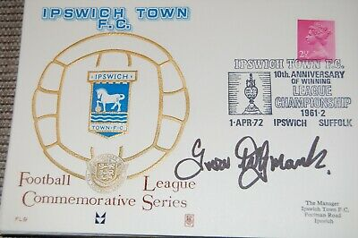 Ipswich Town 1972 Fdc Signed Trevor Whymark