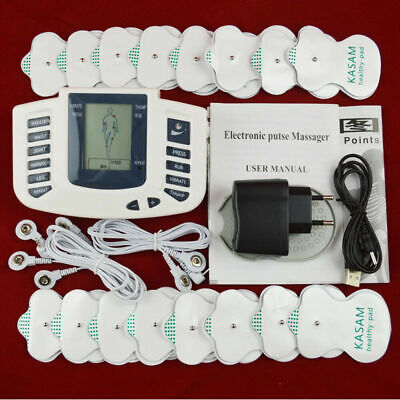 1Set Electrical Stimulation Massage Tens Machine Tool Muscle Therapy Pain Relief