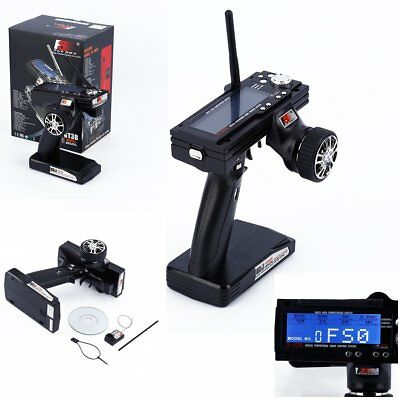Flysky FS-GT3B 2.4G 3CH Transmitter With Receiver Fail-Safe For RC Car Boat FK