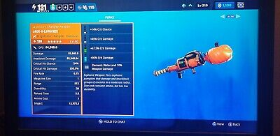 Fortnite   Save The World PL 130 CANDY CORN LMG, (Physical) GOD ROLL PS4 PC XBOX