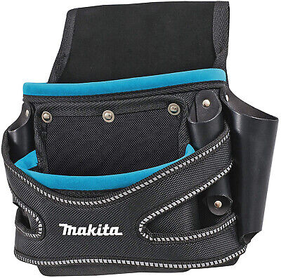 Makita Multi Tool Belt Pouch Nails Screws Nuts Equipment Bag Rigid Pocket Fixing