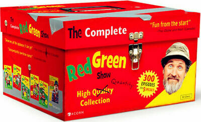 THE RED GREEN SHOW Complete Series High Quality Collection ,FREE SHIPPING, NEW.