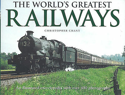 THE WORLD'S GREATEST RAILWAYS. Colour Illustrated Encyclopedia. NEW.  Perfect.