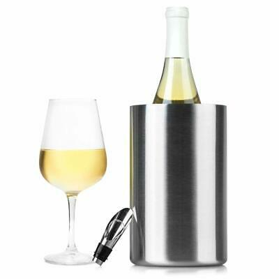SKYBAR INSULATED WINE Cooler LED wine Glow Cover Keeps wine