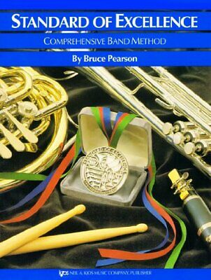 Standard Of Excellence: Comprehensive Band Metho... by Pearson, Bruce 0849759544
