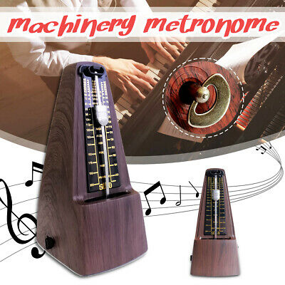 Metronome Mechanical Music Timer Wood Vintage Classical for Piano Guitar