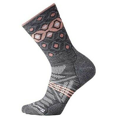 Smartwool Phd Outdoor Light Pattern Crew Gris T94732/ Calcetines Mujer Gris