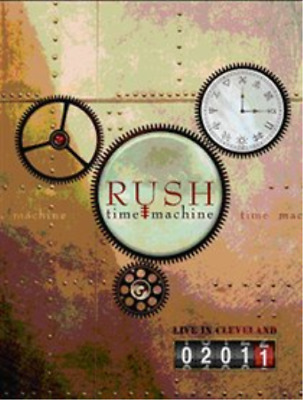 Rush: Time Machine - Live in Cleveland DVD NEW