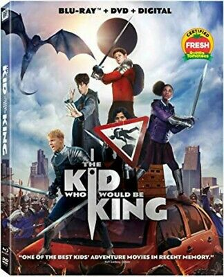 THE KID WHO WOULD BE KING (Blu-ray + DVD + Digital, 2019) New / Free Shipping