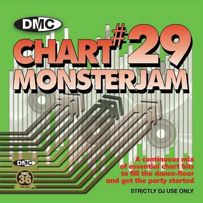 DMC Chart Monsterjam Vol 29 DJ CD - Hits from May 2019 Continuous Mix