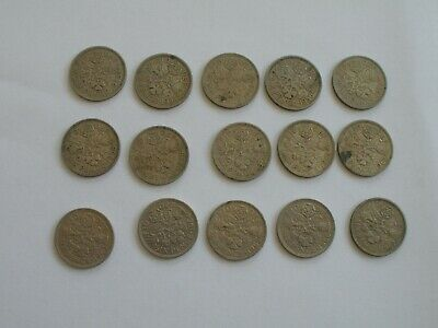 1953 - 1967 Complete Collection Of Elizabeth Ii Sixpences