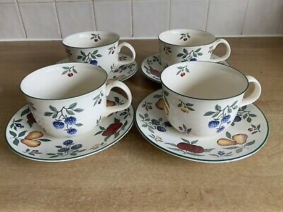 Royal Stafford Toscana - 4 x Large Breakfast Cups & Saucers
