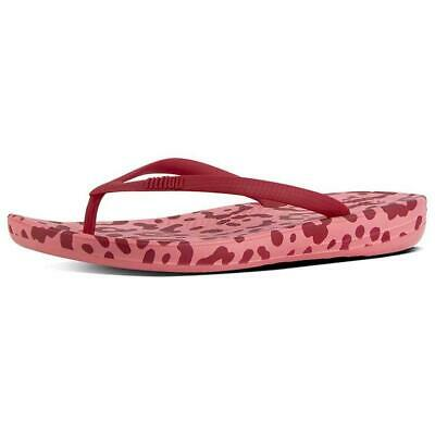62c7024f3fdda Fitflop Iqushion Ergonomic Rouge T46191/ Tongs Femme Rouge , Tongs Fitflop