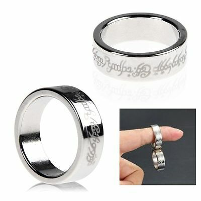 Magnetic Ring 23mm Magnetic Magnet Coin Finger Pro Magic Tricks Props ShowToolTB