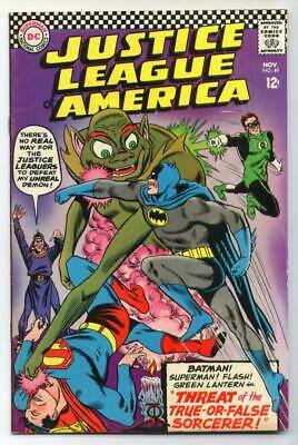 Justice League of America #49 (Mike Sekowsky) Silver Age-DC Comics FN+ {50% OFF}