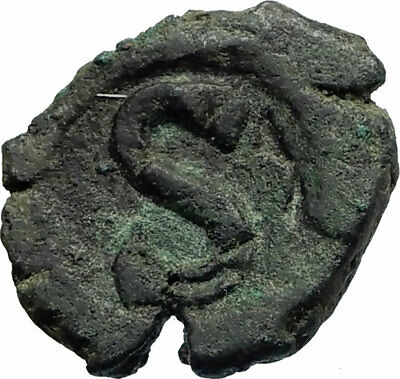 HERACLIUS Very RARE Alexandria OCCUPATION Ancient Byzantine 6 Nummi Coin i76954