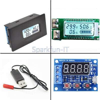 NEW 18650/26650 ZB2L3 Capacity Current Voltage LCD Meter Lithium Battery Tester
