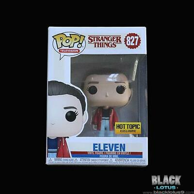 Funko Pop! Eleven in Slicker Stranger Things HOT Topic Netflix IN STOCK Pop 827