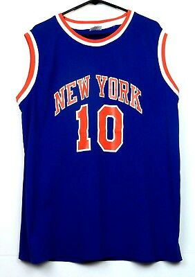 6fa24331 WALT FRAZIER NEW YORK KNICKS MADISON SQUARE GARDEN BASKETBALL JERSEY ...