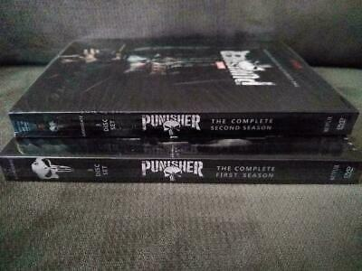The Punisher Seasons 1 & 2 DVD 6 Disc Set Complete Seasons w/Slip Covers New