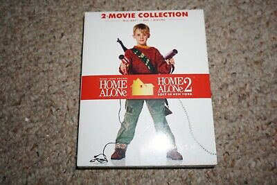 Home Alone 1 & 2 Movie Collection (Blu-ray/DVD/Digital Copy) NEW Sealed
