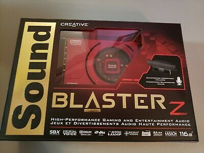 CREATIVE SOUND BLASTER Z PCIe Gaming Sound Card High Performance