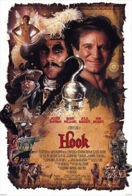 SALE BN Hook You Choose 4K & Case or Bluray Robin Williams Peter Pan Classic