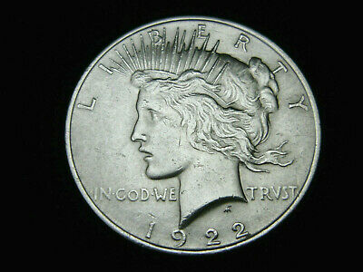 USA, 1 Dollar, 1922, Peace, Silber/900, orig., vz.!