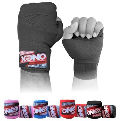 BOXING-HAND/_WRAPS BANDAGES INNER PUNCH BAG GLOVES WRIST PALM STRAPS COTTON
