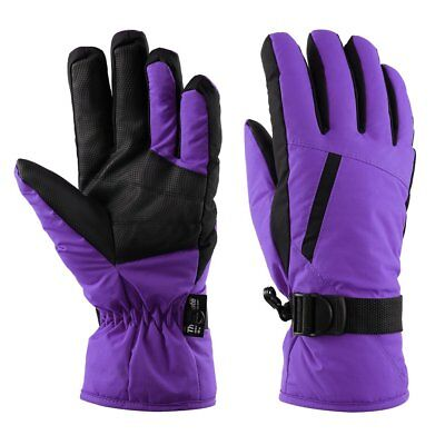 OUTAD Waterproof Snow Ski Gloves Warm Mountain Climbing Gloves for Women Py