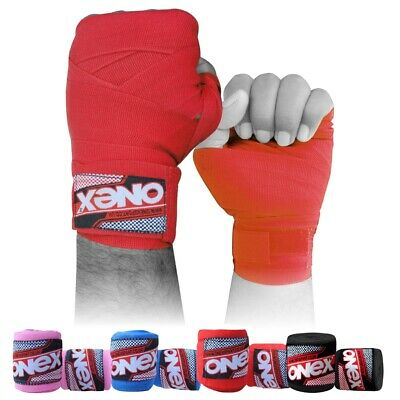 BeSMART KIDS JUNIOR MUAY THAI KICKBOXING BOXING MMA HAND WRAPS 2.5M