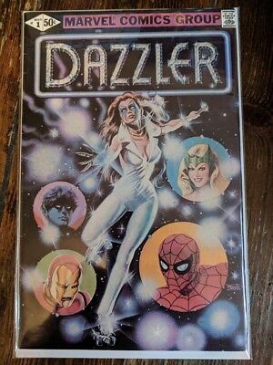 Dazzler #1 Marvel Comics (X-Men Spin-off character) VG condition